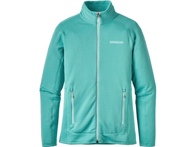 Patagonia R2 Full-Zip Jacket Dame strait blue
